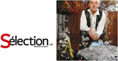 Récupération de languettes de canettes d'aluminium pour acheter des fauteuils roulants ou aider les gens à partir des profits amassés par la vente de l'aluminium à un recycleur. Fondation Clermont Bonnenfant.