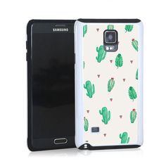 Small green cactus open pattern for Note 4
