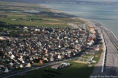 Photo aérienne de : Cayeux-sur-Mer - Somme (80)