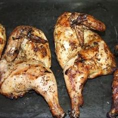 Grilled Cornish Game Hens Allrecipes.com