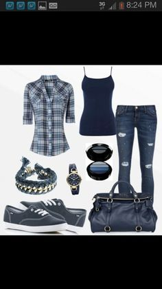 Wish | Blue Womens Outfit
