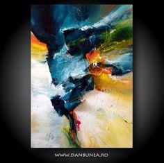 Follow me, 3d living abstract painting , by Dan Bunea, www.danbunea.ro