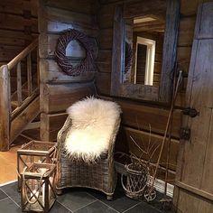 grysval's photo on Instagram Cabin, Instagram Posts, Home Decor, Cabins, Cottage, Interior Design, Home Interior Design, Wooden Houses, Home Decoration