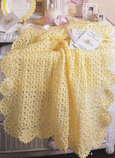 Absolutely Gorgeous Baby Afghans Book 4 Leisure by LucyGooseyDolls