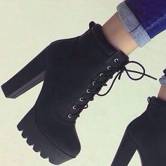 High Heel Boots For Fall boots high heels black boots winter boots heel boots black black heels black shoes shoes classy Black Heel Boots, Black Heels, Shoe Boots, Combat Boots Heels, Women's Boots, Cute Shoes Boots, Ankle Boot Heels, Bootie Heels, How To Wear Ankle Boots