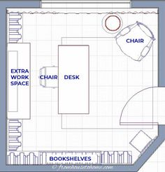 Try out these small home office layout ideas to find traditional desk arrangements, L-shaped configurations or an office for two that works. Cozy Home Office, Tiny Office, Cool Office Space, Home Office Setup, Home Office Desks, Office Decor, Office Ideas For Work, Future Office, Office Nook