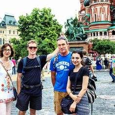 #MoscowTours On our Red Square and #Kremlin tour today in #Moscow. Australian #tourists are always fun. We love Australians   #friendlylocalguides #moscowguide #russia #russiatours #russianholiday #travelrussia #redsquare #краснаяплощадь