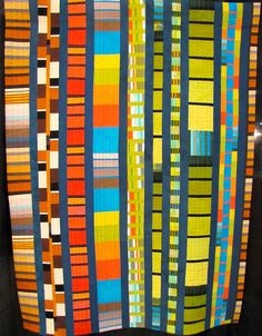 contemporary quilt  | ... of mine who dyes all her own fabric and pieces very modern quilts