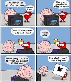 The Awkward Yeti comics. Funny humor and oddities. Have a laugh and check out… Akward Yeti, The Awkward Yeti, Heart And Brain Comic, Funny Cute, Hilarious, Medical Humor, Funny Comics, Funny Cartoons, Funny Photos