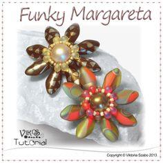 Flower Pendant Tutorial - Funky Margareta