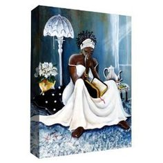Annie Lee Art on Canvas Ready Made