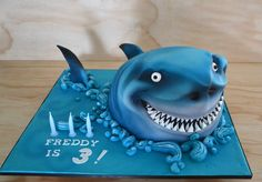Debbie Brown shark cake, awesome!