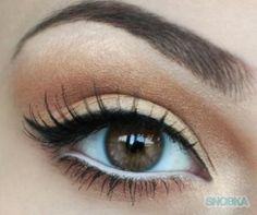 Another example of how white eyeliner applied inthe water line really opens up the eyes :)