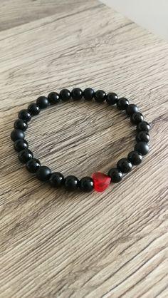 Swarovsky srdce s minerálmi Swarovski, Beads, Bracelets, Jewelry, Beading, Jewlery, Jewerly, Schmuck, Bead