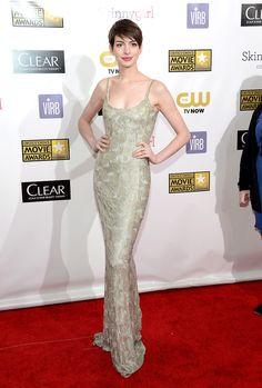 Critics' Choice Movie Awards Anne H- Oscar de la Renta