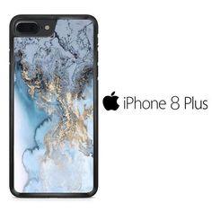 Marble Crystal Blue iPhone 8 Plus Case Iphone 8 Plus, Marble, Phone Cases, Crystals, Prints, Blue, Granite, Crystal, Marbles