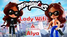ALYA and LADY WIFI Miraculous Ladybug Doll Tutorial MLP Equestria Girls ...