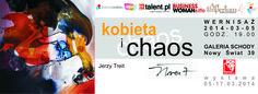 Na wystawę malarstwa Jerzego Treita zapraszamy od 6 do 17.03.2014r, do Galerii Schody, ul. Nowy Świat 39 w Warszawie http://artimperium.pl/wiadomosci/pokaz/171,kobieta-i-chaos-jerzy-treit-w-galerii-schody#.UwszbPl5OSr