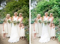 Before & After of a wedding photo edited with Mastin Labs Fuji 160NS digital preset. Photo by Troy Grover Photography.