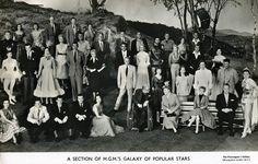 mgm | Tumblr MGM's Galaxy of Popular Stars
