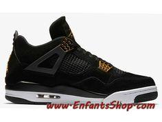 Air Jordan 4 Retro Royalty 308497-032 Chaussures Jordan Officiel Pas Cher Pour Homme Noir Or Jordan 4, Basket Pas Cher, Air Max Sneakers, Sneakers Nike, Baskets, Officiel, Nike Air Max, Shoes, Fashion