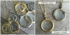 Magnifying Glass Necklaces | Sassy Steals
