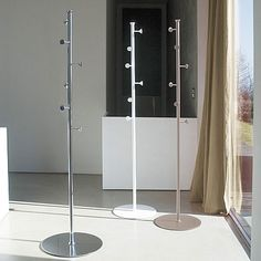 Modern metal hallway coat stand Stilo by Antonello