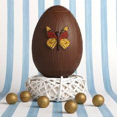 Tesco Finest Belgian Hand-Brushed Milk Chocolate Egg