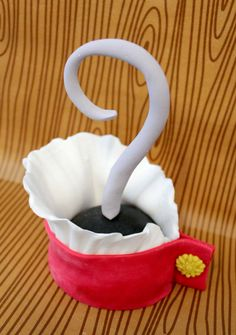 Fondant Edible Cake Topper Pirate Hook 1 qty by SugarAndStripesCo, $25.00