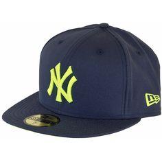 New Era Canvapop Cap NY Yankees navy/cybergreen ★★★★★