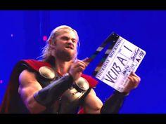 Thor: The Dark World Official Gag Reel (HD) Chris Hemsworth