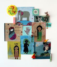 Moodboard enfant , cartes Les Petites Kasko