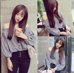 Design:+shirt Materials:+Cotton+Blended Sleeves:+Long+Sleeve Style:+Korean+Fashion Occasion:+Casual Features:+Free+matching,+Boat+Neck+can+be+wearing+in+2+ways,+strapless+parts+can+be+raised+as+a+normal+collar.+Very+fashion+and+nice! Size:++Free+Size,+1+Size  Cloth+Length:+Front:+20.1+Inc...