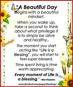 A beautiful day Blessed Sunday Morning, Friday Morning Quotes, Good Morning God Quotes, Good Morning Prayer, Morning Thoughts, Morning Blessings, Morning Prayers, Good Morning Wishes, Deep Thoughts