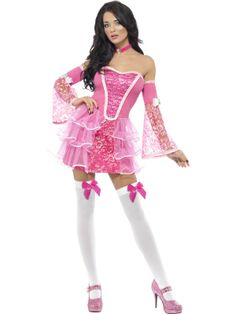 Fever Marie Antoinette Sparkle Costume. http://www.getiton-fancydress.co.uk/adult-costumes/french-renaissance/fever-marie-antoinette-sparkle-costume#.UvirXfsry10