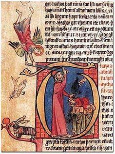 Detalle del manuscrito de la Edda mayor.