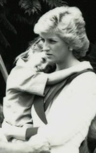 February 2, 1988: Princess Diana visiting a Barnardo's children's center in Sydney, Australia.  (Day 9)