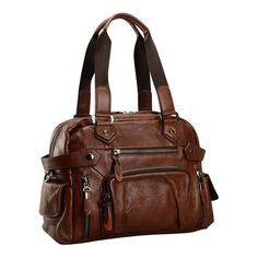 Men's Leather Shoulder Bag $124.99