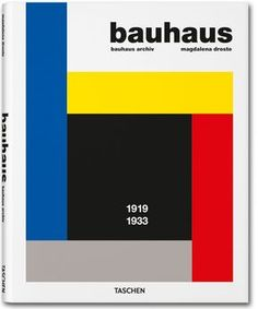 Bauhaus: 1919 - 1933 by Bauhaus Archiv; Bauhaus, Architecture Pdf, Good Books, Books To Read, Library Shelves, Ebooks, This Book, Ads, How To Plan