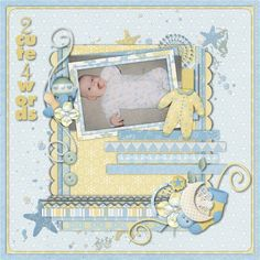 Precious Baby Boy by Lindsay Jane Designs - Scrapbook.com