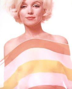 Marilyn Monroe by Bert Stern. 1962