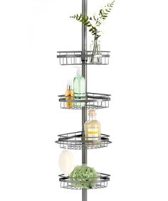 This Ultimate Chrome Shower Caddy by Popular Bath is perfect! #zulilyfinds