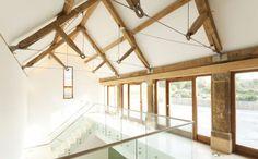 simple elegant wood truss - Google Search