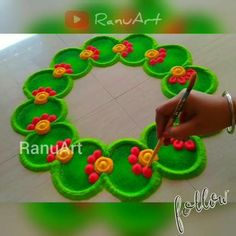 Easy Rangoli Patterns, Easy Rangoli Designs Videos, Easy Rangoli Designs Diwali, Rangoli Designs Latest, Simple Rangoli Designs Images, Rangoli Designs Flower, Free Hand Rangoli Design, Small Rangoli Design, Rangoli Border Designs
