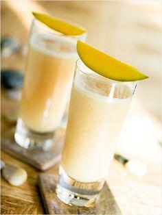 Mango Tango- Amaretto, mango nectar, coconut nectar