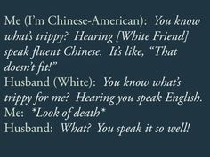 """""""Sh*t White/Asian Couples Say""""- I had to post this because this is bleeping idiotic"""