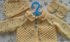 Ravelry: Danika Baby Jacket pattern by marianna mel Jacket Pattern, Baby Knitting Patterns, Baby Wearing, Barbie Dolls, Ravelry, Boy Or Girl, Cardigans, Sweaters, Knitted Baby