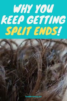 Are you taking really good care of your hair? You feel like you're doing everything right and you still keep getting split ends? Read this!