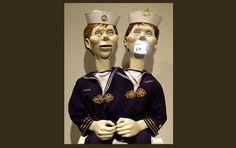 contemporary art curiosities: Lindsay Seers, Sailors Billy ventriloquist dummies