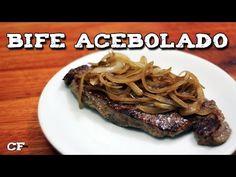 Como fazer bife acebolado @CookFork - YouTube